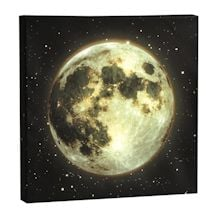 Moon Led Canvas