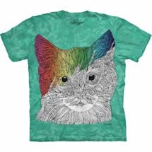 Color Yourself Tee- Cat
