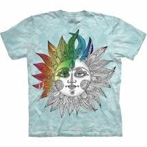 Color Yourself Tee- Sun
