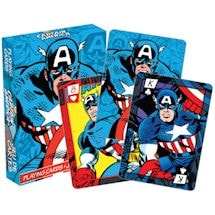 Licensed Playing Cards Captain America