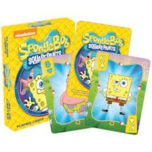 Licensed Playing Cards Sponge Bob Square Pants