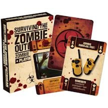 Licensed Playing Cards Zombie Outbreak