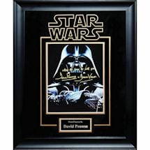 Star Wars Signed Print Darth Vader