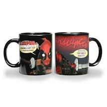 Deadpool Melted Flesh Heat Changing Thermochromatic Mug Set of 2