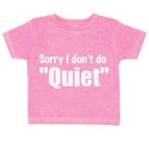 Toddler Tees - Quiet
