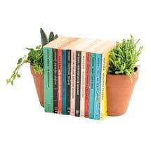 Terracotta Planter Bookends