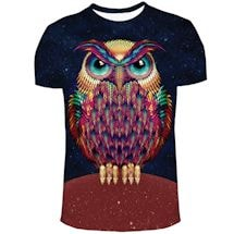 Colorful Owl Shirts