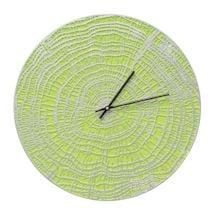 Indoor - Outdoor Metal Clocks - Lime Wood Grain