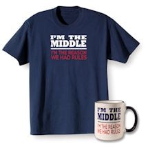 Rules Middle T-shirt and Mug Gift Set