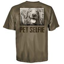 Pet Selfie Tee- Golden and Goose Tee
