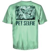 Pet Selfie Tees - Cat