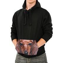 Dachshund Sublimated Pocket Hoodie