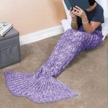 Mermaid Tail Blankets - Purple
