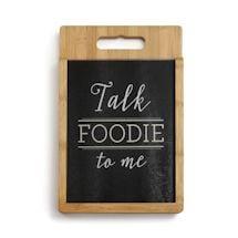 Talk Foodie To Me Cutting Board Set