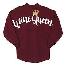 Wine Queen Long Sleeve