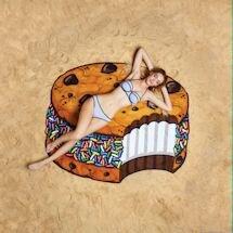 Beach Blanket Towels - Ice Cream Cookie