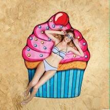 Beach Blanket Towels - Cupcake