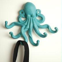 Cast Iron Octopus Hooks