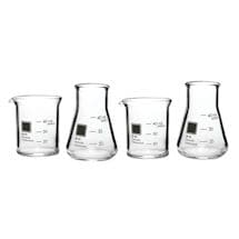 Periodic Glassware Beaker Collection - Shot Glasses