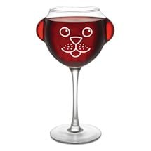 Pet Wine Glasses - Dog