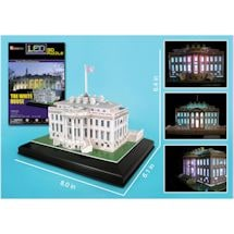 Great Places 3D Led Puzzles - White House