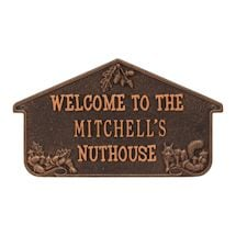 Personalized Nuthouse Lawn Plaque