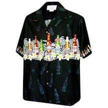 Beer Bottle Camp Shirt