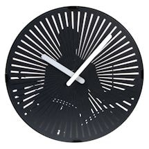 Kinetic Zoetrope Drummer Clock