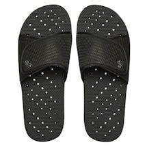 Black Slide Men's Shower Flip Flops