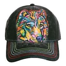 Animal Baseball Hats - Wolf