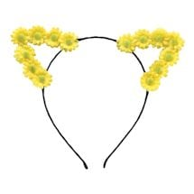 Flower Cat Ears Headband