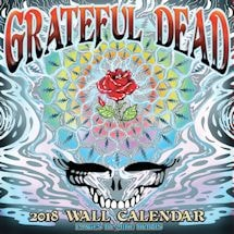 Classic Rock 2018 Calendars - Grateful Dead