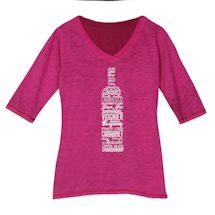 Ladies Wine Bottle Tee