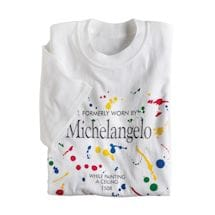 Formerly Worn By Shirts - Michelangelo