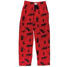 Humor Lounge Pants - Classic Moose Plaid