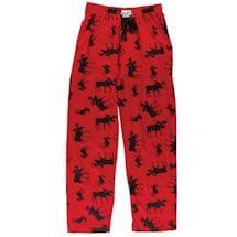 Humor Lounge Pants - Classic Moose Plaid