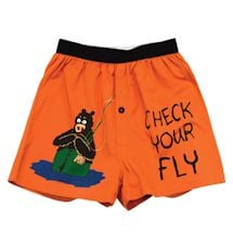 Comical Boxers- Check Your Fly