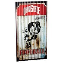 NCAA Corrugated Metal Signs