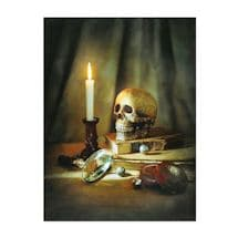 Eerie Still Life LED Wall Canvas