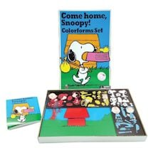 Retro Come Home Snoopy! Colorforms Set
