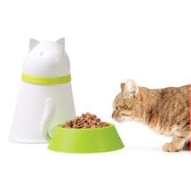 Covered Pet Dishes - Kitty