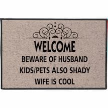 Beware Of Husband Doormat