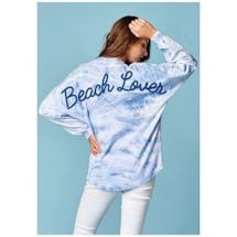 Beach Lover Marble Long Sleeve