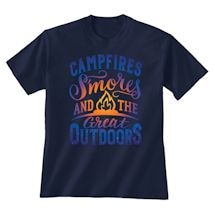 "Campfire ""Smores"" Great Outdoors Tee"