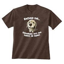 Excuse Me Thirsty Dog Tee