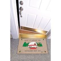 High Cotton Front Door Welcome Mats - Home is Where the Welcome Mat Is