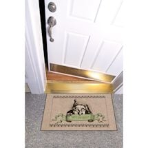 High Cotton Front Door Welcome Mats - WTF. You Again?