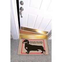 High Cotton Front Door Welcome Mats - Does this Mat Make my Weiner Look Big?