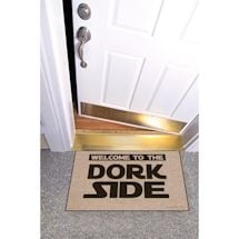 High Cotton Front Door Welcome Mats - Welcome to the Dork Side