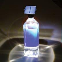 Solar Led Bottle Light & Flashlight